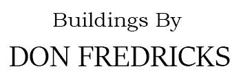 Buildings by Don Fredricks Logo