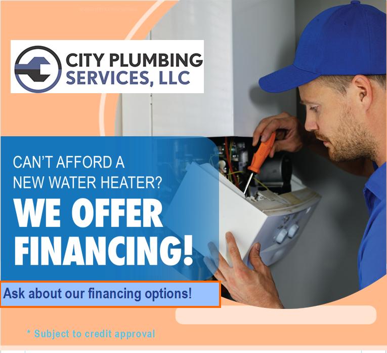 We offer financing!